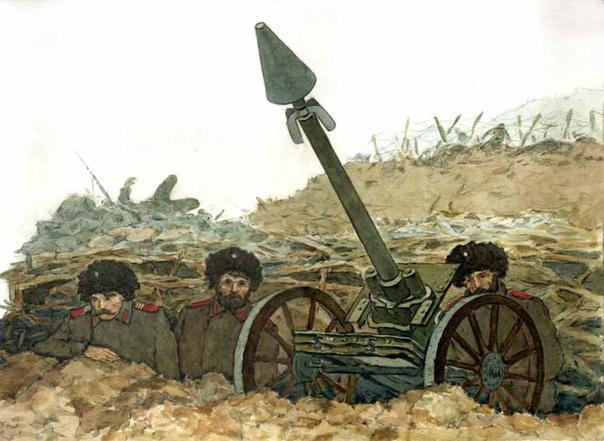 Первый в мире миномет был изобретен русским офицером