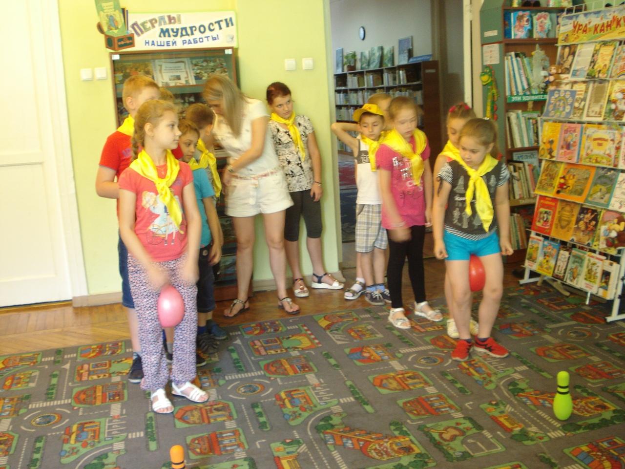 сказки, донецкая республиканская библиотека для детей, отдел обслуживания дошкольников и учащихся 1-4 классов, работа с пришкольными лагерями