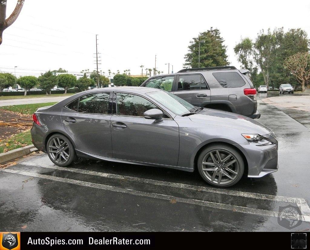Lexus IS 2014 profile