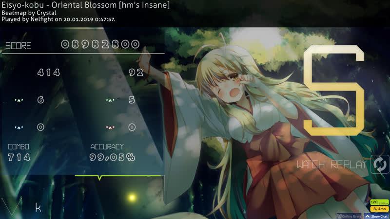 Eisyo kobu Oriental Blossom hm's Insane no CB