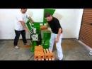 Tijolo ecologico - Prensa hidráulica (doze tijolos por minuto) da Verde Equipamentos