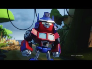 ����� �����. ������������. Angry Birds Transformers Comic-Con trailer