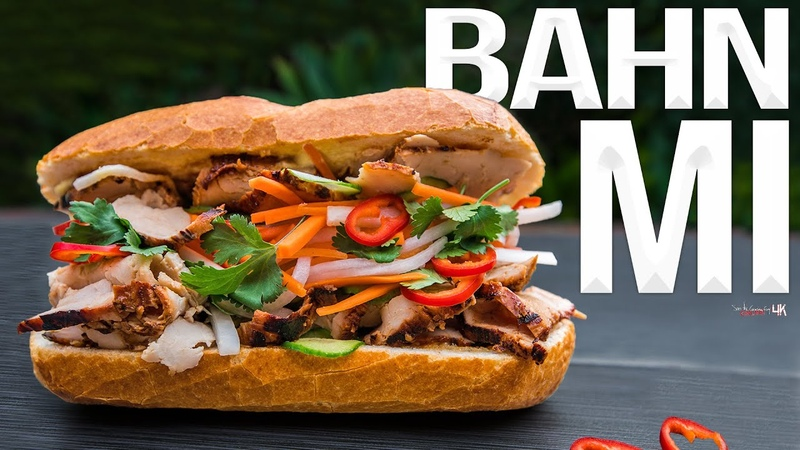 Ultimate Vietnamese Banh Mi Sandwich Recipe SAM THE COOKING GUY 4K