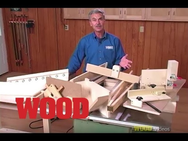 12 Great Tablesaw Jigs with Jim Heavey WOOD magazine