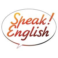 Логотип Speak! English / Говори по-английски!