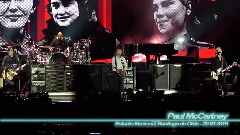 Paul McCartney - Back in the U.S.S.R. ( Estadio Nacional, Santiago de Chile - 20.03.2019 )