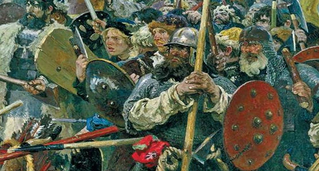 Воины поля Куликова