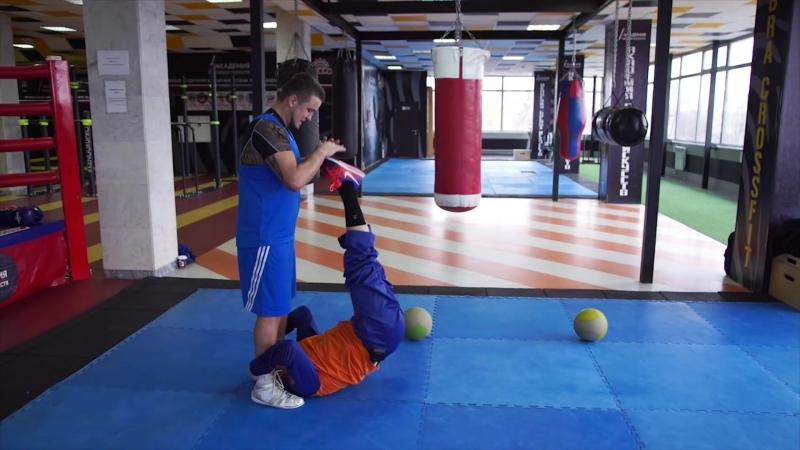 23 Костя Цзю Шахматы Бокса 3 Этап Тренировка 2 Серия 3 Комбинации и завершение тренировки