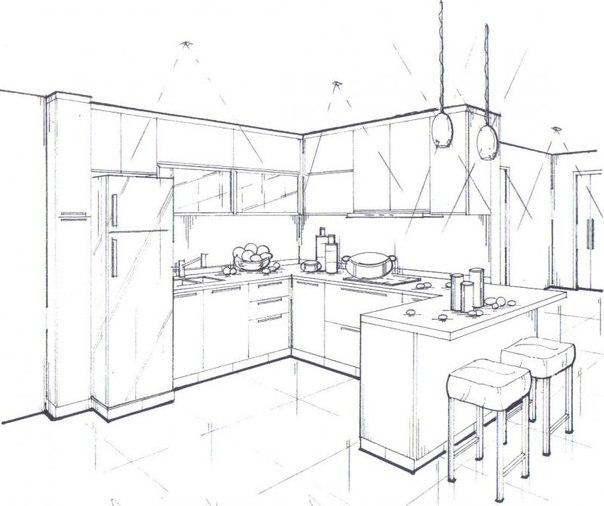 Первый шаг в обустройстве кухни
