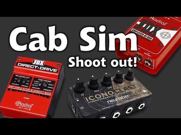 Cab Sim Shootout No IR JDX Iconoclast JDX Drive Mimiq