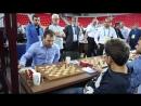 Окончание партии Мамедъярова против Ароняна на Батумской Олимпиаде 2018