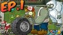 Plants vs Zombies All Stars BOSS Trucker Gargantuar Treasure Yeti American Suburbs Ep 1