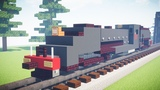 Minecraft Rhodesia Railways 15A Class Garratt Tutorial