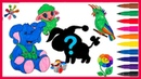 Раскраски для детейУчим цвета и рисоватьВСЕ СЕРИИ ПОДРЯД ТРЕТЬЕГО СЕЗОНА.