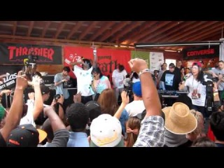 Kreayshawn - Left Eye live at SXSW 2012