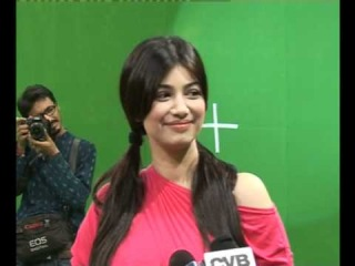 Ayesha Takia shooting a Promotional Song for her comback-film