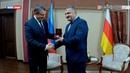 На пути к союзу глава ЛНР с официальным визитом прибыл в Южную Осетию