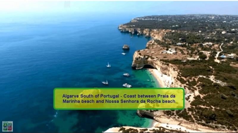 17 Algarve South of Portugal Coast between Praia da Marinha beach and Nossa Senhora da Rocha beach