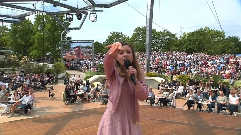Marie Wegener - Königlich (ZDF Fernsehgarten, 13.05.2018)