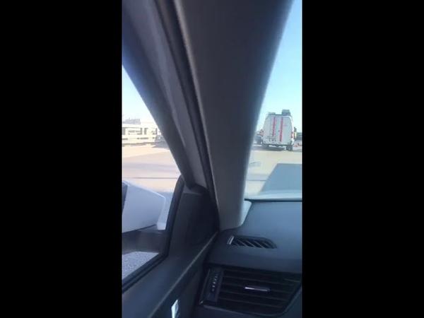 Авария в Ростове на Дону, мост Сиверса