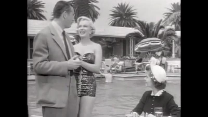 Мэрилин в трейлере к фильму Давай сделаем это легально 1951 год