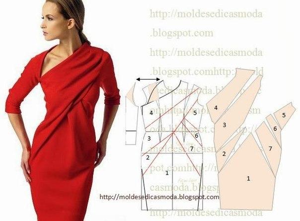 Шьем платья (9 фото) - картинка
