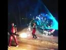 Лазерно огненное шоу