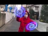 Doctor Strange Magic Spell using a Hologram Display LED Fan