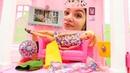 Barbie ve kötü alışkanlıkları! Eğlenceli kız çocuk videoları. Barbie oyunu