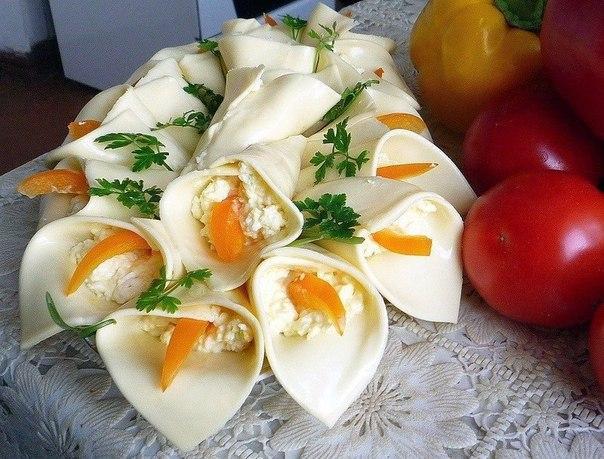 """Закуска сырная """"Каллы"""""""