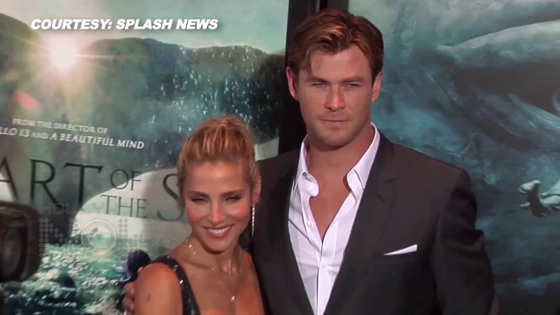 VIDEO PDA ALERT Chris Hemsworth Elsa Pataky CUTE On The Red Carpet