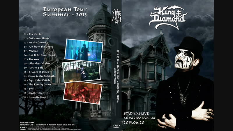 King Diamond - 2013 - Live in Moscow 20.06.2013