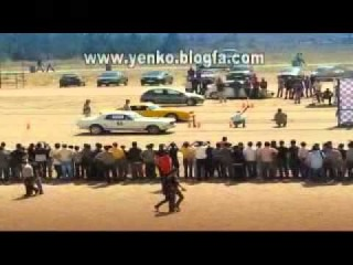 DRAG RACING american cars in IRAN 2009