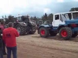 Сражение тракторов Русский VS Немец