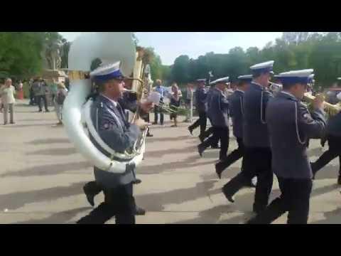 Духовой оркестр в Варшаве 4К