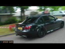 BMW E60 M5 V10 S85 Brutal Acceleration Burnout Drift and Exhaust Sound - Speed