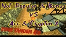 Not Popular Bonus vs Acc Crypton X Tanki Online Zone tandem 19