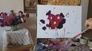 Уроки живописи. Один и тот же букет при разном освещении