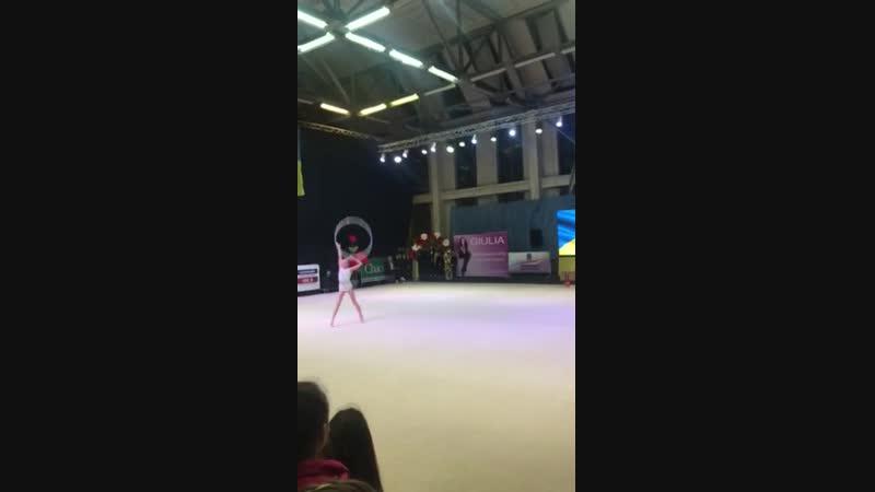 Виктория Оноприенко Обруч Чемпионат Украины Днепр 2018