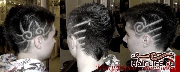 Стрижки (мужские, короткие волосы). стрижка классическая.  Услуги.