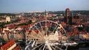 Gdańsk z lotu ptaka zakończenie lata