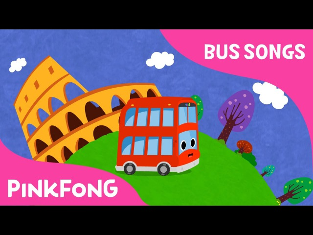 Tour Bus   Tour bus goes around the world   Bus Songs   Car Songs   Pinkfong Songs for Children