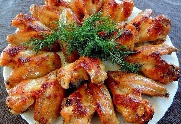 Toп-9 аппетитных рецептов вкуснейших куриных крылышек