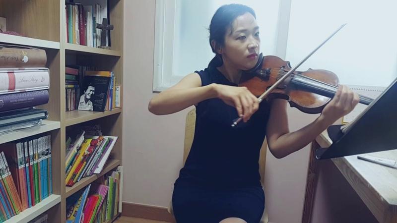 CCM_사명 바이올린 연주_바이올린 강사 김민정_바이올린 배우기_바이올린레슨