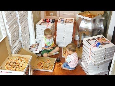 Bad Baby Вредные Детки Заказали Много Пиццы Pizza Fail