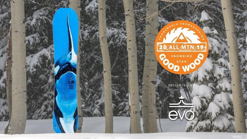 Lib Tech Travis Rice Orca Review Men's All-Mountain Winner – Good Wood Snowboard Test 2018-2019