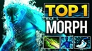 KAMIKAZE TOP 1 Morphling Spammer - UNREAL 83% WIN, 2200 Games - Dota 2 EPIC Gameplay