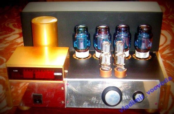 Лампы JJ КТ 88 синее стекло.