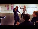 Kemba Walker Hits the Dance Floor With Kristen Ledlow on NBA Inside Stuff