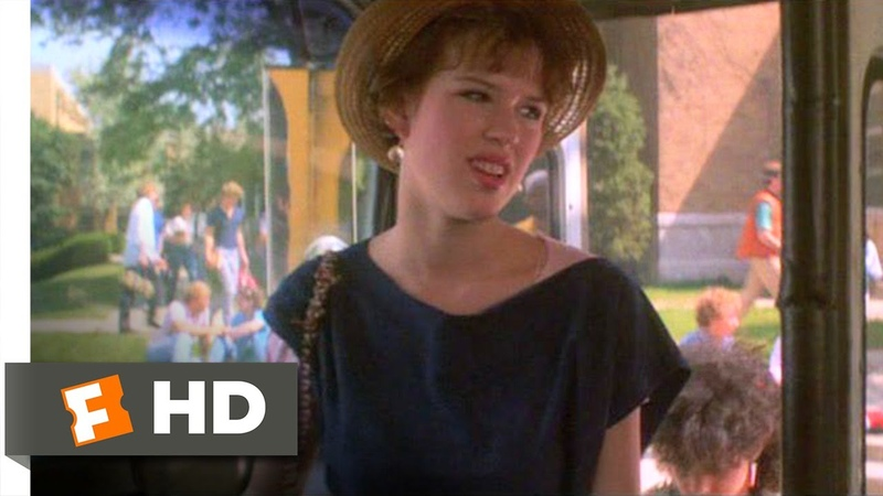 Sixteen Candles (210) Movie CLIP - I Loathe the Bus (1984) HD